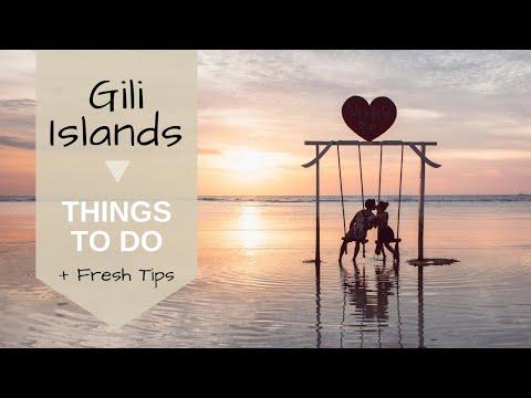 THE GILI ISLANDS - Gili Trawangan, Gili Meno, Gili Air - THINGS TO DO